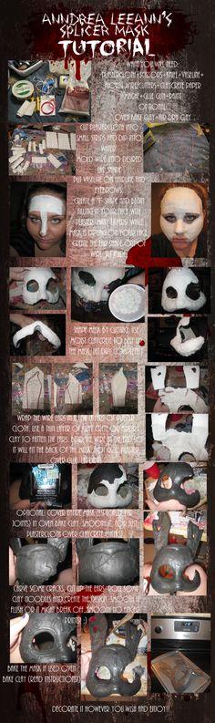 EASY cheap Bioshock Splicer mask tutorial by AnndreaLeeann on DeviantArt