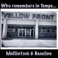 Yellow Front  Tempe, McClintock & Baseline