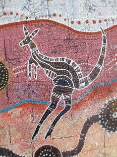 CULTURE: Austrailia is best known for its outback. They are the only place where kangaroos live. It is also a great place to get away and have a nice long vacation, so I have heard. Thinking Day Indigenous Australian Art, Indigenous Art, Aboriginal Painting, Dot Painting, Aboriginal Art Animals, Cave Painting, Aboriginal People, Arte Tribal, Tribal Art
