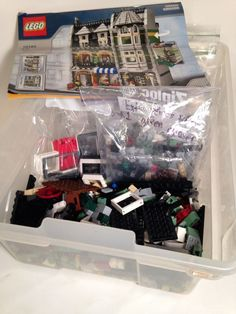 Lego Green Grocer Spare Parts And 10185 Manual 3lb +  | eBay