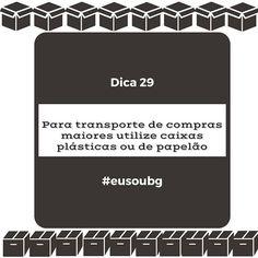Além da praticidade alguns supermercados oferecem descontos para quem usa caixas para embalar as compras evitando os sacos plásticos. #eusoubg #baiadeguanabara #labhidroufrj #ufrj #riodejaneiro #errejota #agua #analisedeagua