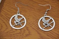 The Hunger Games MockingJay Fashion Earrings