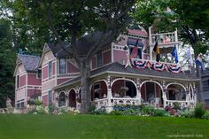 Victorian Cottage in Bay View near Petoskey, MI, Photo by Gerald D. Tang