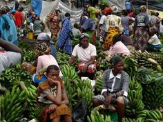 Mercado de fruta de Arusha