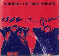 Tolnai Ottó, Domonkos István: Valóban mi lesz velünk (What will really become of us) This is a representative poetry book written by the key figures of the first generation of the cultural and literary journal, Új Symposion. The book was published in the late 60's  by Fórum Kiadó. The book is illustrated with the collages of Tolnai and Domonkos.