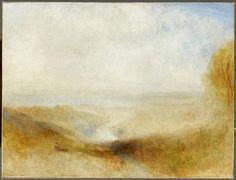 Joseph Mallord William Turner   Paysage avec une rivière et une baie dans le lointain   Images d'Art