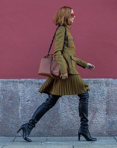 bdb307bfe4d This Is Definitely the Most Chic Way to Wear Over-the-Knee Boots