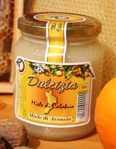 """Miele """"Dulcizia"""" di Arancio. Azienda produzione: Olicoop"""