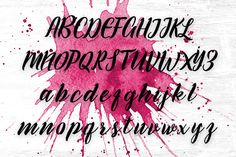 Fanatic script font