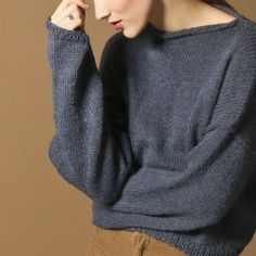 Haptic Sweater / kit de tricot pull / knitting kit sweater
