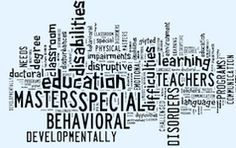 Special Education Masters Online: These degree programs prepare teachers to create a learning environment to meet the unique needs of students who are learning disabled, developmentally challenged or gifted and talented.