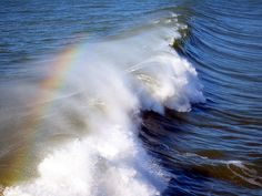 Rainbow in the Mist by JB by the Sea, via Flickr