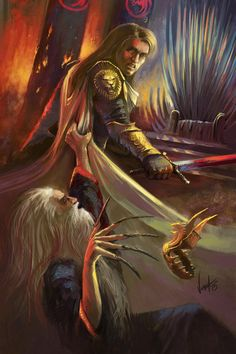 Jaime Lannister II. A Song of Ice and Fire by NickKalinin on DeviantArt