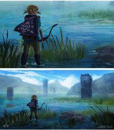 Link Zelda Wii U (Legend of Zelda: Breath of the Wild)