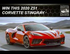 Win a 2020 Z51 Corvette Stingray