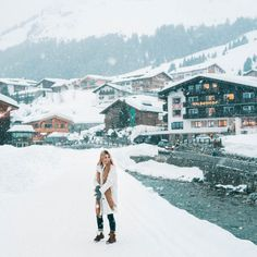 A Weekend Guide to Lech, Austria Lech, Austria has some of the best ski resorts in Europe. Here's everything you need to know to organize an incredible winter trip to Lech in the Austrian alps. Click through to read the full guide via Find Us Lost Best Ski Resorts, Best Vacations, Europa Im Winter, Austria Winter, Winter Weekend Getaways, Austria Travel, Ski Austria, Best Skis, Winter Travel