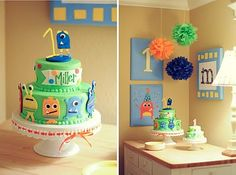Fancy Frills Style Studio: {Little Monster 1st Birthday}