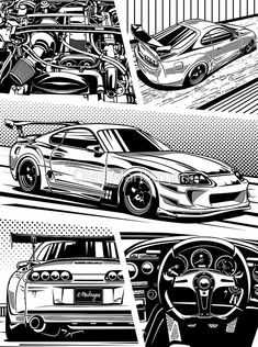 Toyota Supra 246 Wallpaper Added on , Tagged : Toyota supra at Oliver Rowland Racing Toyota Supra Mk4, Tuner Cars, Jdm Cars, Nissan Skyline, Skyline Gtr, Carros Bmw, Jdm Wallpaper, Hyundai Genesis, Car Illustration