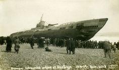 The Beaching of Submarine SM U 118