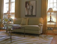 11 Area Rug Rules and How to Break Them  |   How Big Should an Area Rug Be? Some Guidelines to Work With