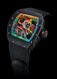 The artsy Richard Mille RM 68-01 Tourbillon Cyril Kongo