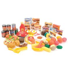 Buy Plastic Role Play Cartons and Food Sets | TTS
