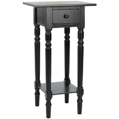 Safavieh Cape Cod Black Accent Table