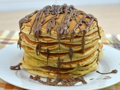 The Original Recipe for American Pancakes - The Original Recipe for American Pa. - The Original Recipe for American Pancakes – The Original Recipe for American Pancakes – - Cheap Clean Eating, Clean Eating Snacks, American Pancakes, Chocolate Chip Pancakes, Homemade Pancakes, Salty Cake, Baking Tins, Savoury Cake, Dessert Recipes