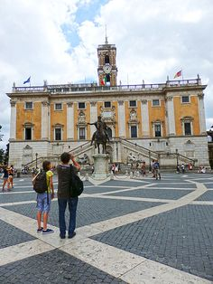 Central museum on Capitoline Hill (and also Rome's City Hall)