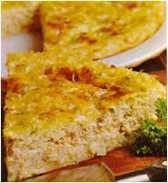 Savory Salmon (or Tuna) Impossible Pie. Mix everything together then bake, it forms it's own crust. Bisquick Recipes, Quiche Recipes, Pie Recipes, Cooking Recipes, Recipies, Microwave Recipes, Dinner Recipes, Fish Dishes, Seafood Dishes