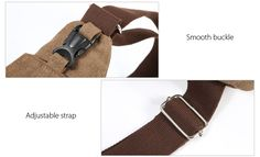 3860 Male Leisure Canvas Sports Sling Bag 5L