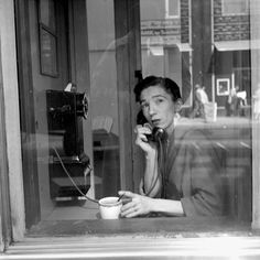 Vivian Maier, New York (nearly  a selfportrait in the glass )