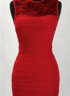 Red Cocktail Dress, something a little sophisticated, but screams fun!-$17.60
