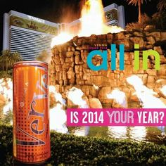 Are you ready #allin with #verve in year 2014? This #vemma moment will be awesome