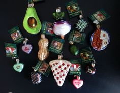 Vtg. Old World Christmas Sweets and Foodie Ornaments Lot of 12 NWT