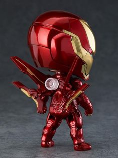 The Good Smile Company have announced details on their new Avengers: Infinity War Nendoroid Iron Man Mark L (Infinity Edition) figure. This new [. Chibi Marvel, Marvel Dc Comics, Marvel Infinity, Avengers Infinity War, Superman Action Figure, Action Figures, Marvel Kids, Disney Marvel, Star Wars Merchandise