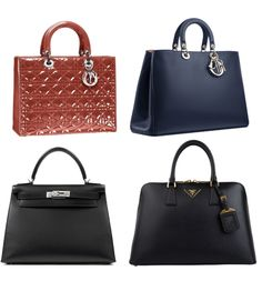Bag Spring 2013 - Dior, Prada and Hermes bags