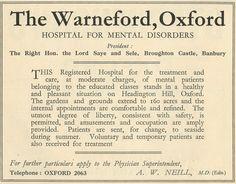 History of Headington, Oxford Insane Asylum Patients, American Horror Story Asylum, Uk History, Mental Disorders, Scotland, Ireland, Oxford, Life, Irish