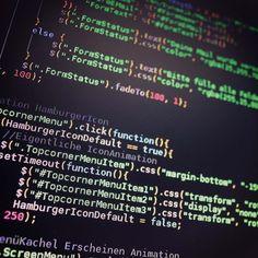 Some JavaScript From My New Website Development Programming