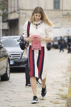 Après New York et Londres, les Fashionistas Ont Débarqué à Milan Jour 1 Veronika Heilbrunner