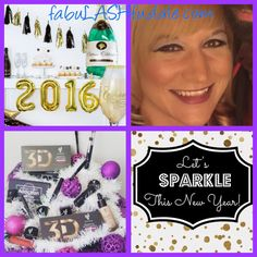 Get ready for 2016 with Younique products. 3d Mascara, Younique, Make Up, Sparkle, Let It Be, Products, Makeup, Beauty Makeup, Bronzer Makeup