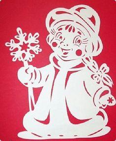 Интерьер Новый год Вырезание Дед Мороз и Снегурочка в Сказочном лесу оформление окон Бумага фото 20