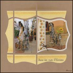 Gabarit Mirage,papier imprimé Azza ,tampon Frises Fleurs Izzy coloré aux woody,tampons mariage,gabarit Alphabet Léon.