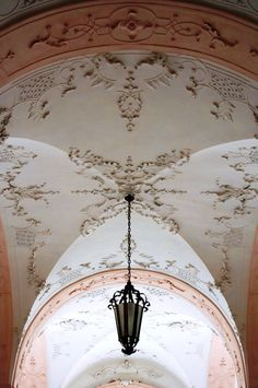 """decorated ceiling"" - This is a photograph of the ceiling in the Mirabell Palace, Salzburg, Austria. - photo by janneman on trekearth.com"