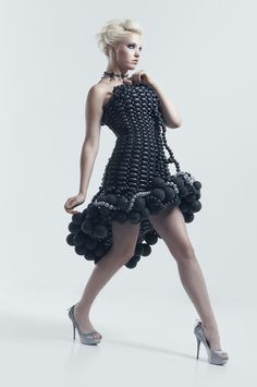 Balloon Dress Model - Brianna Rambo, Hair/MU - Rachel Koszegi, Photographer - Jesse Paulk