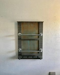 Industrial wine rack rustic wine rack galvanized gas pipe