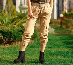 👖Bej Kargo Pantolon 🏷99₺ ℹ️S, M, L bedenleri mevcuttur. 🌏www.anindagiyim.com/urun/bej-kargo-pantolon ☎️ 0212 438 73 25 ✅ Kapıda Ödeme ✅ Ücretsiz Kargo #moda #giyim #alışveriş #kadıngiyim #stil #trend #fashion #style #pantolon #kargopantolon #bejrengi #bejrengipantolon #bejkargopantolon #indirim #ücretsizkargo #model Khaki Pants, Fashion, Moda, Khakis, Fashion Styles, Fashion Illustrations, Fashion Models, Trousers