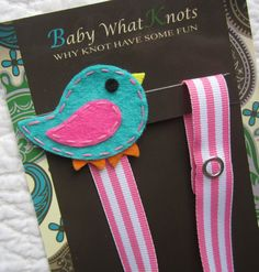 Hey, I found this really awesome Etsy listing at https://www.etsy.com/listing/155396825/girl-pacifier-clip-blue-bird-pacifier