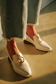 Reike Nen chunky heel ring loafers great deals online XiUuwz0yor