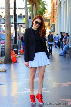 Hollywood Walk of Fame, week two! Sunny California, Hollywood Walk Of Fame, Skater Skirt, Stylish, My Style, Skirts, Colour, Woman, Fashion